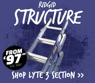 Lyte triple extension ladders Industry supplies