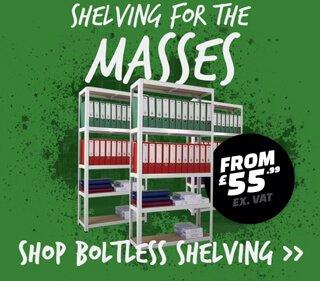 Boltless office shelving Industry Supplies