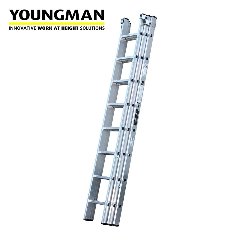3 Section Extension Ladder : Youngman trade section extension ladder industry