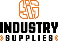 Industries supplies logo black outline